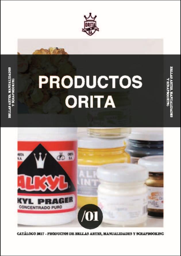 Catálogo productos Orita